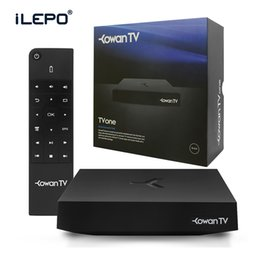 Wholesale Best Linux OS Amlogic S812 Kowan TV One Live Streaming Iptv Set Top Box Loaded in Free Sky Greek Portuguese Spanish Indian English Channels