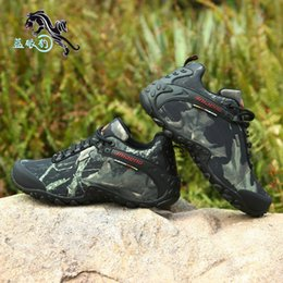 Wholesale Waterproof Men Hiking Boots For Outdoor Casual Walking Work Jobs Shoes Military Tactical Combat Breathable Army Flat Size