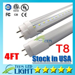 Wholesale Stock in US CE UL ft T8 W Led Tube Light lm V Led lighting Replace m foot Fluorescent Tube Lamp