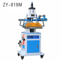 ZY-819M Pneumatic Stamping Machine,leather LOGO Creasing machine,pressure words machine,LOGO stampler,name card stamping machine
