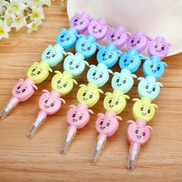 Niños mini lápiz en venta-Lápiz creativo lindo de Apple del lápiz estándar lindo al por mayor-Mini de Kawaii para el envío libre 2104 de los efectos de escritorio coreanos del artículo de la novedad de los cabritos