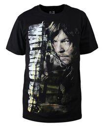 Wholesale The Walking Dead short Sleeves T shirt Shirt Tops Men s Shirt Daryl Dixon Shirt