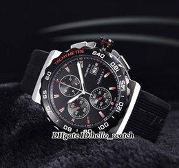 Wholesale Super Clone Luxury Brand CAU111A FT6024 Calibre16 FORMULA Gents Watch VK Quartz Chronograph Mens Watch Black Rubber Strap Sport Watches