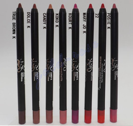 Wholesale HOT NEW Kylie jenner Velvetine Matte Lipstick Lip Pencil color High quality Gift