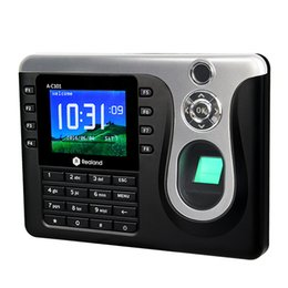 Wholesale Fingerprint Password ID Card Biometric Staff Attendance Fingerprint Attendance Machine F6149A