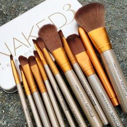 Wholesale Newest Pro Makeup Brushes Set Synthetic Hair Powder Foundation Eyeshadow Lip Eyeliner Angled Contour Brush Tool T251