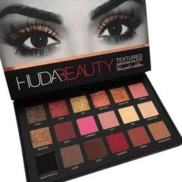 Wholesale 2016 HUDA Beauty eyeshadow palette colors Shimmer Matte Eyeshadow Pro Eyes Makeup Cosmetics eyeshadow DHL Free