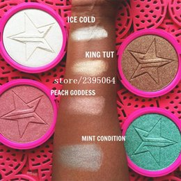 Wholesale Jeff rey Five Star Matte Lipstick Kyshadow Makeup Skin Frost Highlighter MINT CONDITION ICE COLD PEACH GOLDNESS KING Kylie jenner Lip Kit