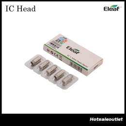 Wholesale Eleaf IC Head for iCare and iCare Mini Kit IC ohm Head with Nice Flavor Especially for Mouth to Lung Inhaling Original