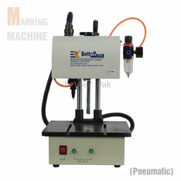 Wholesale XF1711 automatic pneumatic marking machine aluminum coding machine label printer metal parts engraving machine label embossor