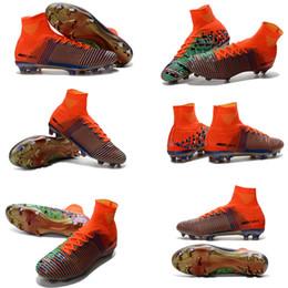 Venta al por mayor Superfly V FG mejores zapatos de fútbol zapatillas Mercurial x EA SPORTS zapatos Hombres Botas de fútbol Zapatos de fútbol Zapatos de deporte desde mejores botas de las mujeres al por mayor proveedores