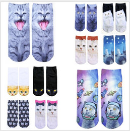 Wholesale Sell like hot cakes hosiery for printing the original d SuFeng animal food straight boat socks is restoring ancient ways