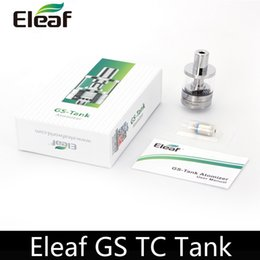 Wholesale Original Eleaf GS TC Tank ohm Temperature Control Coil Pure Cotton Wick Fit iStick W Sigelei W VS GS Air TC head