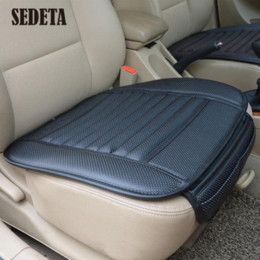 Wholesale Car Bamboo Charcoal Seat Cushion Breathable Padded Auto Cover Pads Universal Cheap pad wrist High Quality cover paste