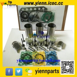 Wholesale Mitsubishi S3L S3L2 overhual repair kit with piston liner piston ring cylinder head gasket valve main conrod bearing