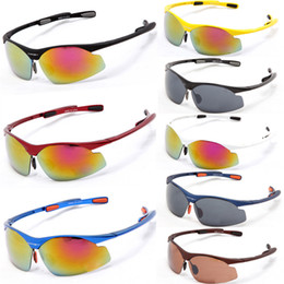 Wholesale Cheap Bicycle Glasses - Hot Outdoor Mountain Sunglasses Cheap Bike Bicycle Cycling Eyewear Glasses UV400 Sports Fishing Cycling Sunglasses for Men & Women