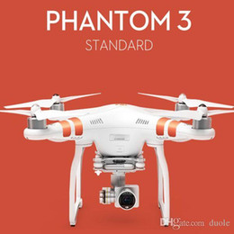 Wholesale Original DJI Phantom Standard RC Helicopter K HD videos and Megapixel photos Axis Stabilization Intelligent System Free DHL FedEx