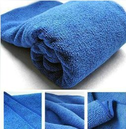 Automotive supplies microfiber washing tools cleaning washing and waxing towel 30*70 43g car wash towels