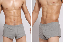 Wholesale-Consmile underwear gmw male panties cotton 100% low-waist trunk aro lounge pants shorts