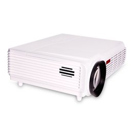 Wholesale New LED Home Theater Lumens x800 Pixels Multimedia HD Wireless LCD Projector Support orthographic rear hoisting