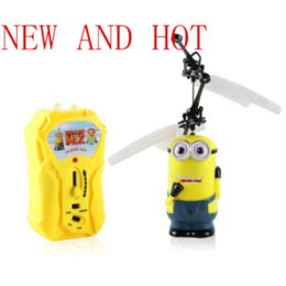 Wholesale New Aircraft Model Toy Children Kids Boy Toys Birthday Gift Despicable Me Minion Helicopter pc