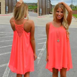Summer style Women dress plus size 2016 new fashion chiffon Fluorescent Sexy derss women summer dress