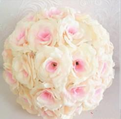 15 to 60cm Different Size Elegant Artificial Roses Flower Balls Hanging Kissing Balls For Xmas Wedding Party Decoration Supplies
