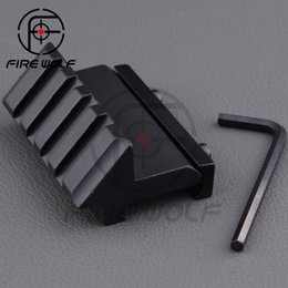 Wholesale Hunting Air Gun Airsoft Degree Offset mm Rail Mount Slot for Rifle Weaver Picatinny Flash Light Laser