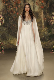 cape shawl sleeves wedding dresses 2017 bridal gowns sheer neckline with beaded wedding gowns