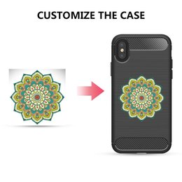 Wholesale New Fashion Carbon Fiber Brushed Silicone Phone Case Cover for iPhone X Protective Case Support Customize Logo