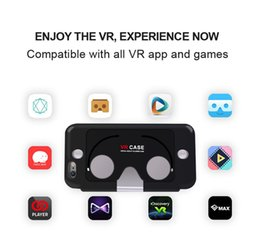 Wholesale for Phone s Plus VR Case Double use Reality D Glasses Cover Cases for Phone s Professional VR Box Movies Games