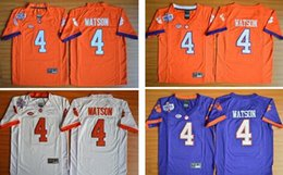 Wholesale HOT Clemson Tigers Youth Kids Jerseys Watson Diamond Edition Kids Boys Children Watson Men College Jersey