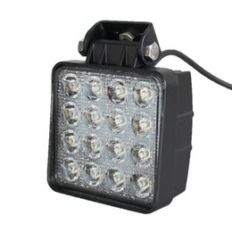 Wholesale Squre w Led Work Light Lamp DC V V Auto inch ATV TRUCK Offroad led spot flood Led Lights Bar