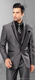 Free shipping mens suits men wedding suit Simple wedding tuxedo Three piece Suit mens cheap suits Men suit