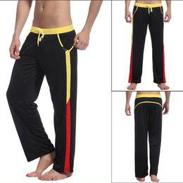 Wholesale Men s Sports Pants Sweat Pants Athletic Underwear Rope Gym Trousers S M L XL YRD