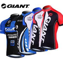 2016 New GIANT Team Cycling Bike Bicycle Clothing Clothes Women Men Cycling Jersey Jacket Jersey Top Bicycle Bike Cycling Shirt