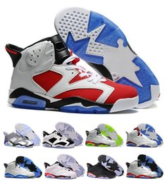 Wholesale China Shoes Women Running - 2016 New color China VI Basketball Shoes Low Retro 6 Women Men s Real Replicas Man China Hombre Basket Sneakers Euro41-47