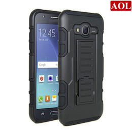 Wholesale For Samsung galaxy J710 J310 J120 J7 J5 J3 Silicone in1 Future Armor Case Stand Belt Clip Cover Phone Cases DHL free