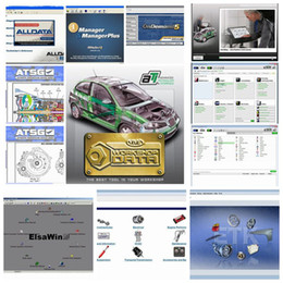 Wholesale HOT new arrive Auto Repair Software Alldata Mitchell auto parts catalogueetc in1 with TB New Hard Disk