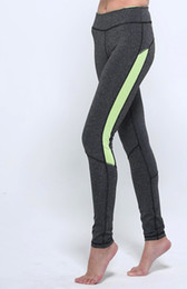 Women High Waist Patchwork Gym Running Sports Leggings For Womens Slim Contrast Color Skinny High Elastic Yoga Fitness Pants Long Trousers