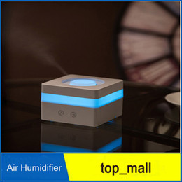 Wholesale Auto Smoke Ring Essential Oil Aromatherapy Diffuser LED light Air Humidifier Air Purifier DHL