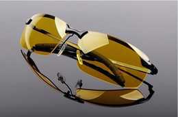2016 new fashion sunglasses polarized sunglasses night-vision glasses, night driving glasses large sunglasses in high beam