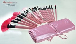 Wholesale 24 pink makeup brush set professional beauty school Manicure shop selling models of spot foreign trade business