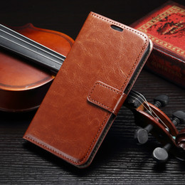 For Samsung Galaxy S7 edge A3 A5 A7 2016 A9 Iphone 6 plus Crazy Horse Skin Leather case retro Wallet Holder Cover