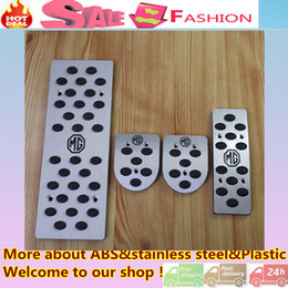 Wholesale Replacement Parts Pedals Top Quality For MG6 MG car Styling cover Aluminium alloy foot Gas petrol oil Interior Brake Rest lamp frame trim