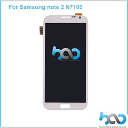 Wholesale 2016 Best Quality For Samsung Galaxy Note N7100 N7105 Lcd Display Touch Screen Digitizer Replacement Repair Parts DHL