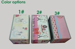 Foldable PU Storage Box with Foral Printing Outside Organizer Containers Cube, Home Storage Bins Girl Makeup boxes Rectangle Set Of 3.
