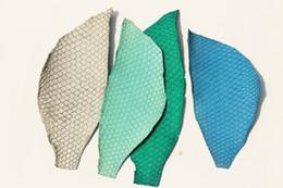 Authentisch Gebräunt Asien Karpfen Fisch Haut Echtes HIDE Echtes Leder  Rohmaterial Supply Für Schuhe, Gürtel, Tasche, Brieftasche, Messer Scheide  # 210