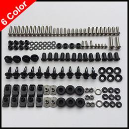 Wholesale 100 For HONDA VFR800 VFR800F VFR F Body Fairing Bolt Screw Fastener Fixation Kit