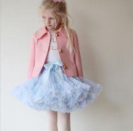 Wholesale Best Match Girls Kid s Kids Dancing Gauze Ballet Skirt Skirt Children s Net Yarn Skirt Kids Skirt Kids Tutu Skirt Dance Apparel Ballet Dress
